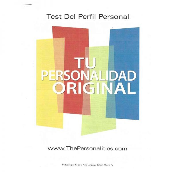 Spanish personality profile